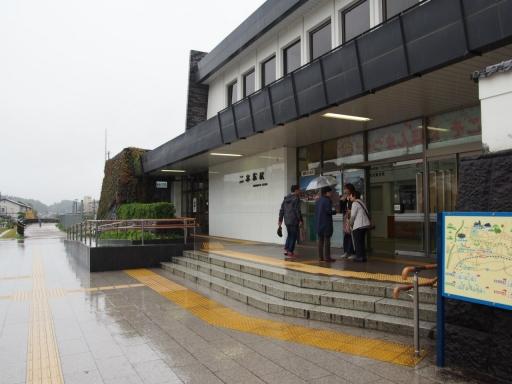 20171022・台風東北旅行空拡大03・台風の二本松駅