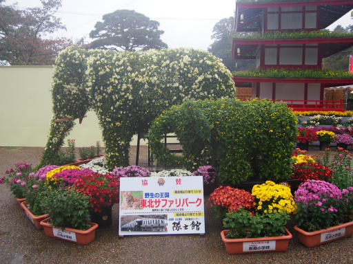 20171022・まつり二本松菊人形18・象
