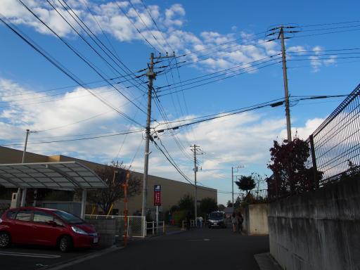 20171103・小手指散歩24・もう空は一面雲が