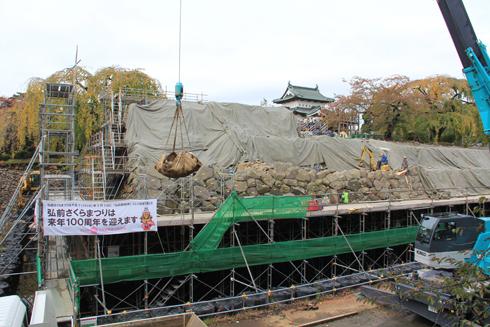 弘前城リンゴアート2017-6