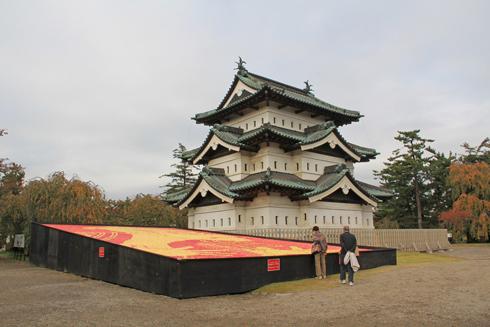 弘前城リンゴアート2017-13