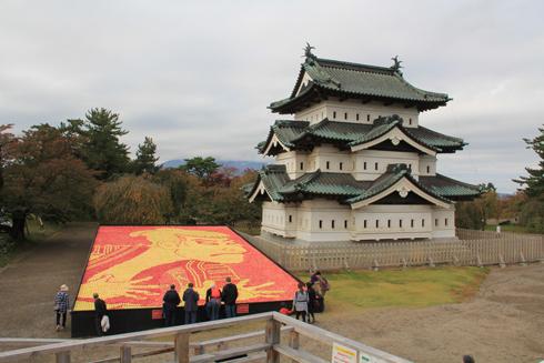 弘前城リンゴアート2017-15