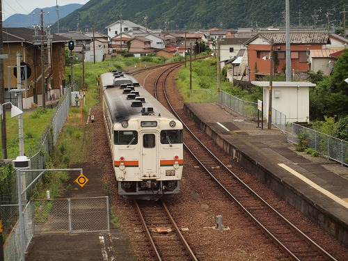懐かしい風景を求めて 2015.6 ぐるり紀勢線 第5回 相賀駅の木造駅舎