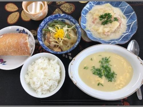 福祉会館・料理