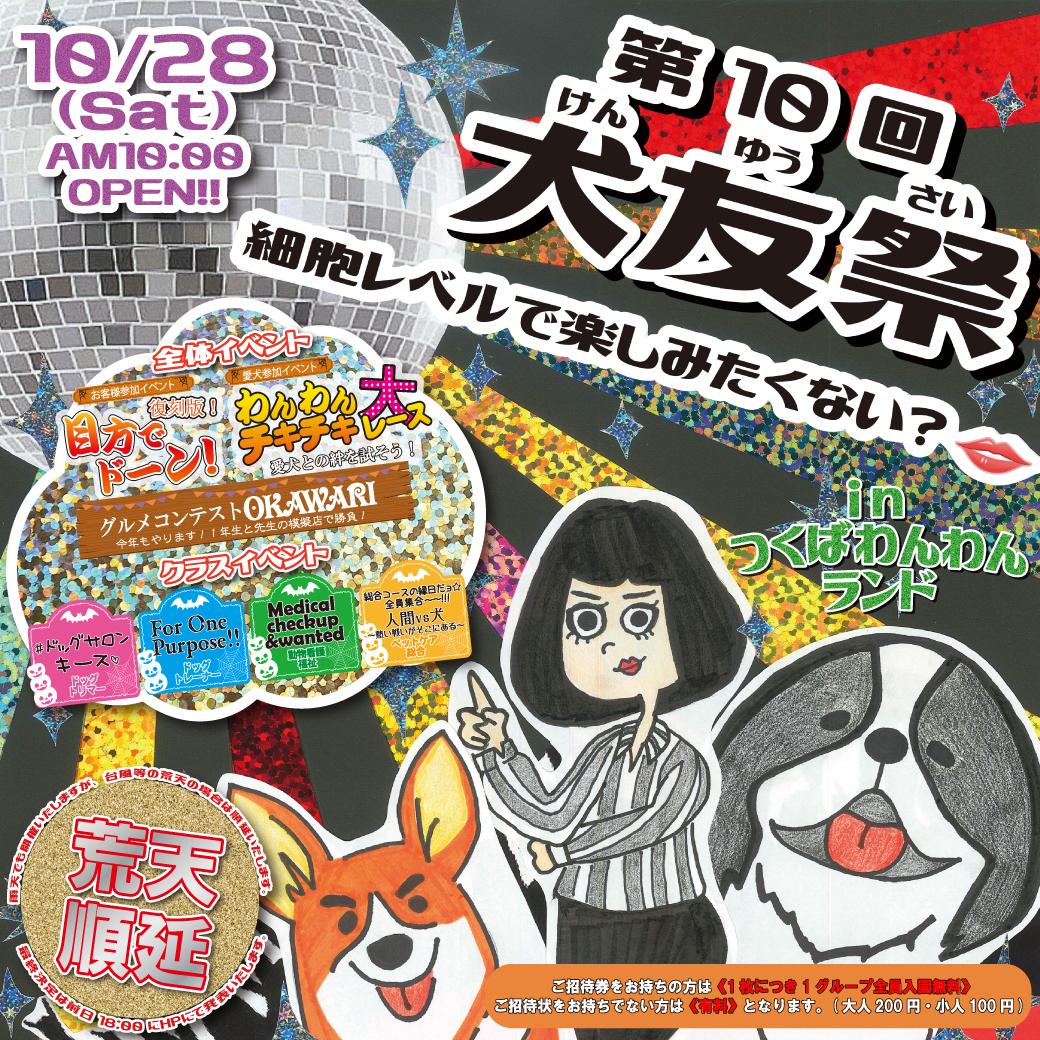 学校 リッチメッセージ 犬友祭