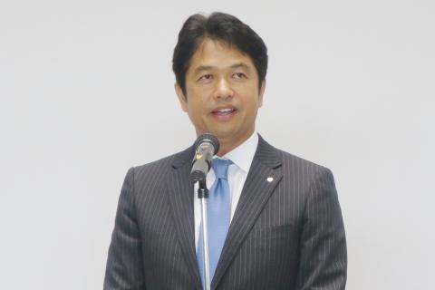 「大井川和彦知事」初登庁③