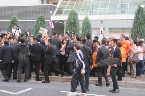 「安陪晋三総理大臣街頭演説」⑨1