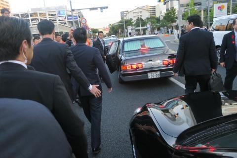 「安陪晋三総理大臣街頭演説」⑪