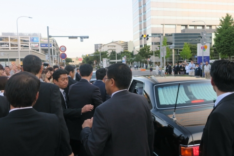 「安陪晋三総理大臣街頭演説」⑫