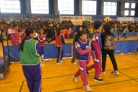 「石岡市障がい者スポーツ大会」④