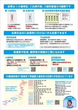 「衆議院選挙ポスター」②