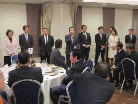 「大井川知事&衆議院議員」祝賀会②