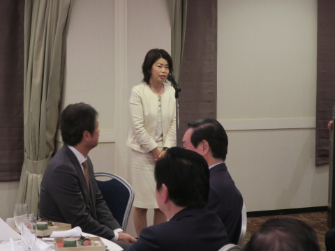 「大井川知事&衆議院議員」祝賀会④
