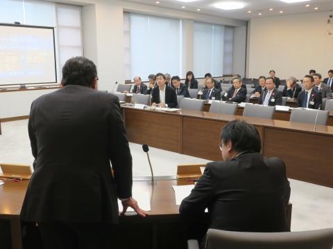 「総務企画委員会」参考人意見聴取②