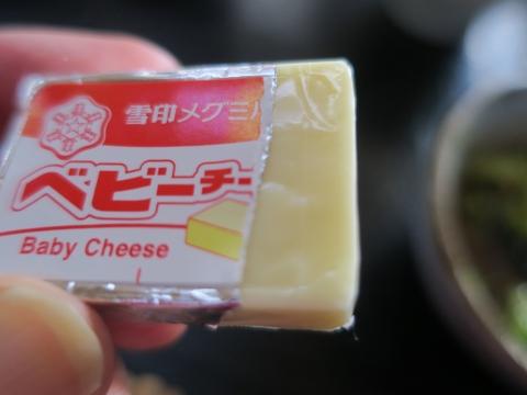 「ナポリタン&ベビーチーズ」⑤
