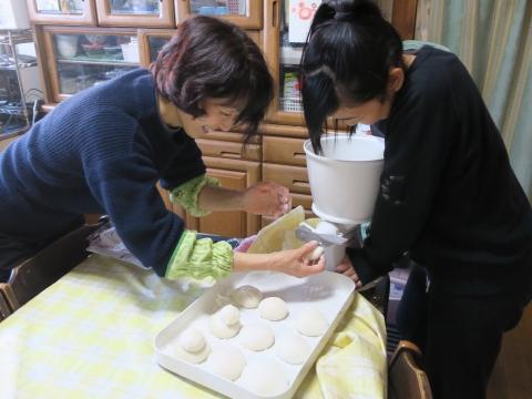 「戸井田家の餅つき大会」⑫
