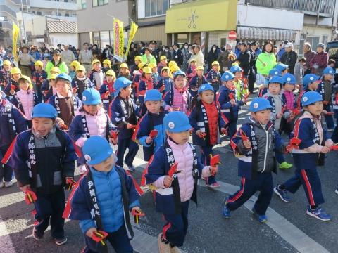 「石岡市消防出初式」パレード&式典 (2)