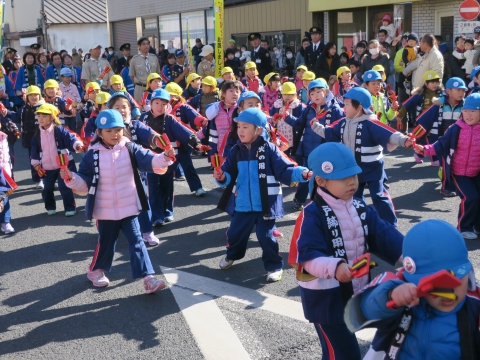 「石岡市消防出初式」パレード&式典 (3)