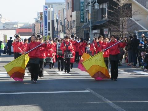 「石岡市消防出初式」パレード&式典 (4)