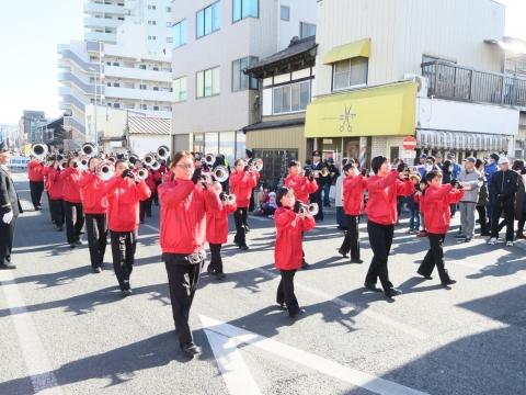 「石岡市消防出初式」パレード&式典 (5)