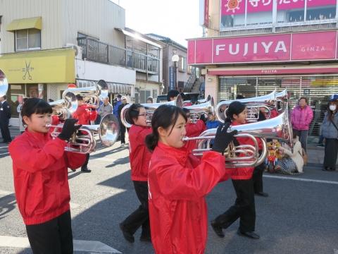 「石岡市消防出初式」パレード&式典 (6)