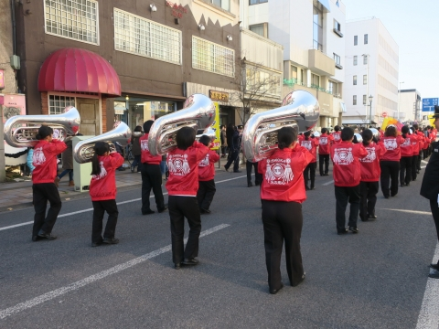 「石岡市消防出初式」パレード&式典 (7)