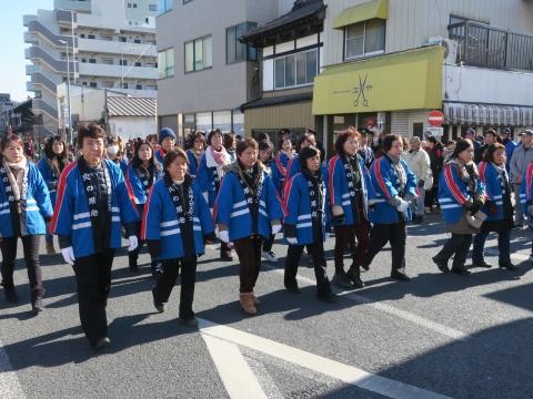 「石岡市消防出初式」パレード&式典 (9)