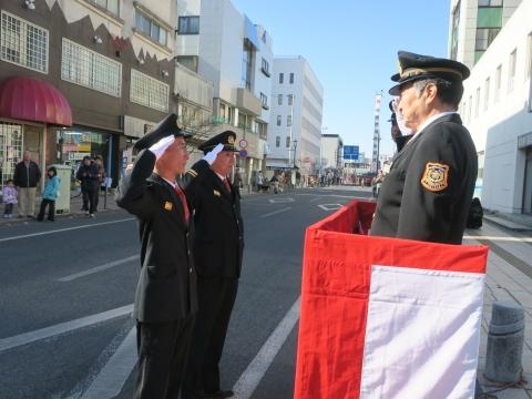 「石岡市消防出初式」パレード&式典 (10)