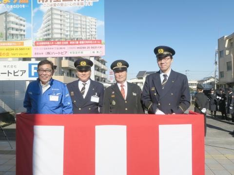 「石岡市消防出初式」パレード&式典 (11)
