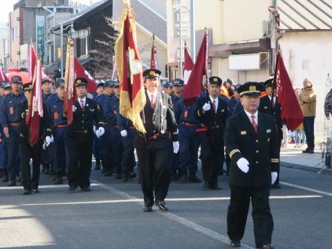 「石岡市消防出初式」パレード&式典 (12)