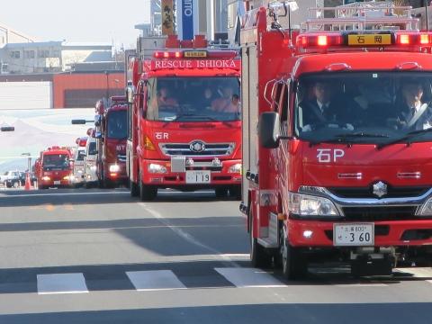 「石岡市消防出初式」パレード&式典 (15)