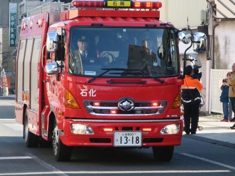 「石岡市消防出初式」パレード&式典 (16)