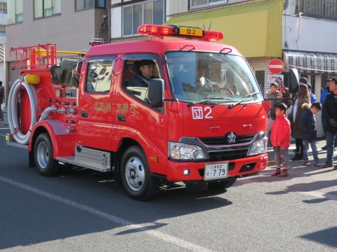 「石岡市消防出初式」パレード&式典 (19)