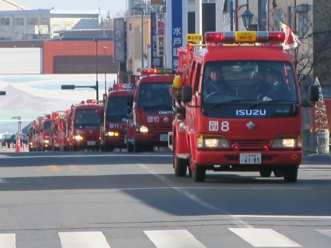 「石岡市消防出初式」パレード&式典 (22)