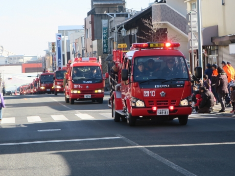「石岡市消防出初式」パレード&式典 (23)