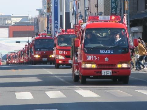 「石岡市消防出初式」パレード&式典 (24)