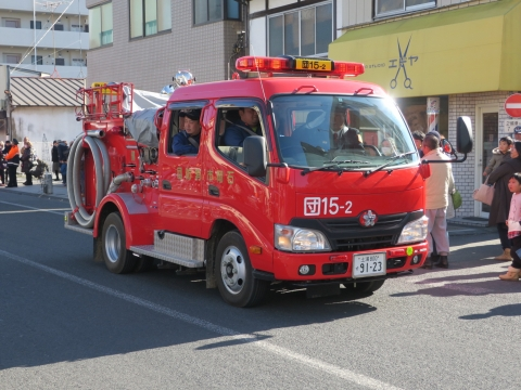「石岡市消防出初式」パレード&式典 (28)