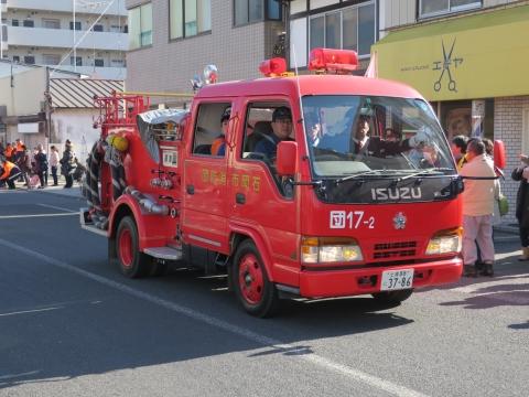 「石岡市消防出初式」パレード&式典 (30)