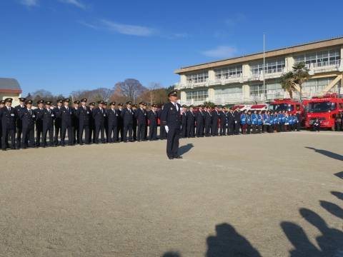 「石岡市消防出初式」パレード&式典 (37)