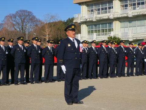 「石岡市消防出初式」パレード&式典 (38)
