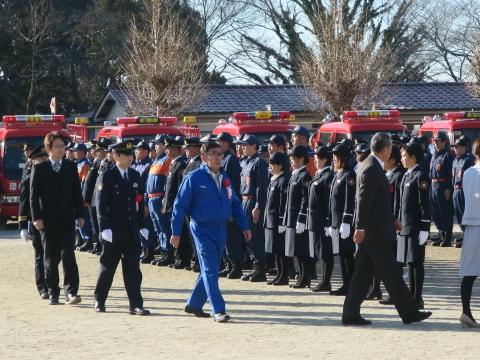 「石岡市消防出初式」パレード&式典 (40)