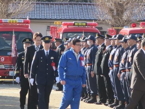 「石岡市消防出初式」パレード&式典 (41)
