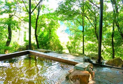 全室露天風呂付きの湯宿