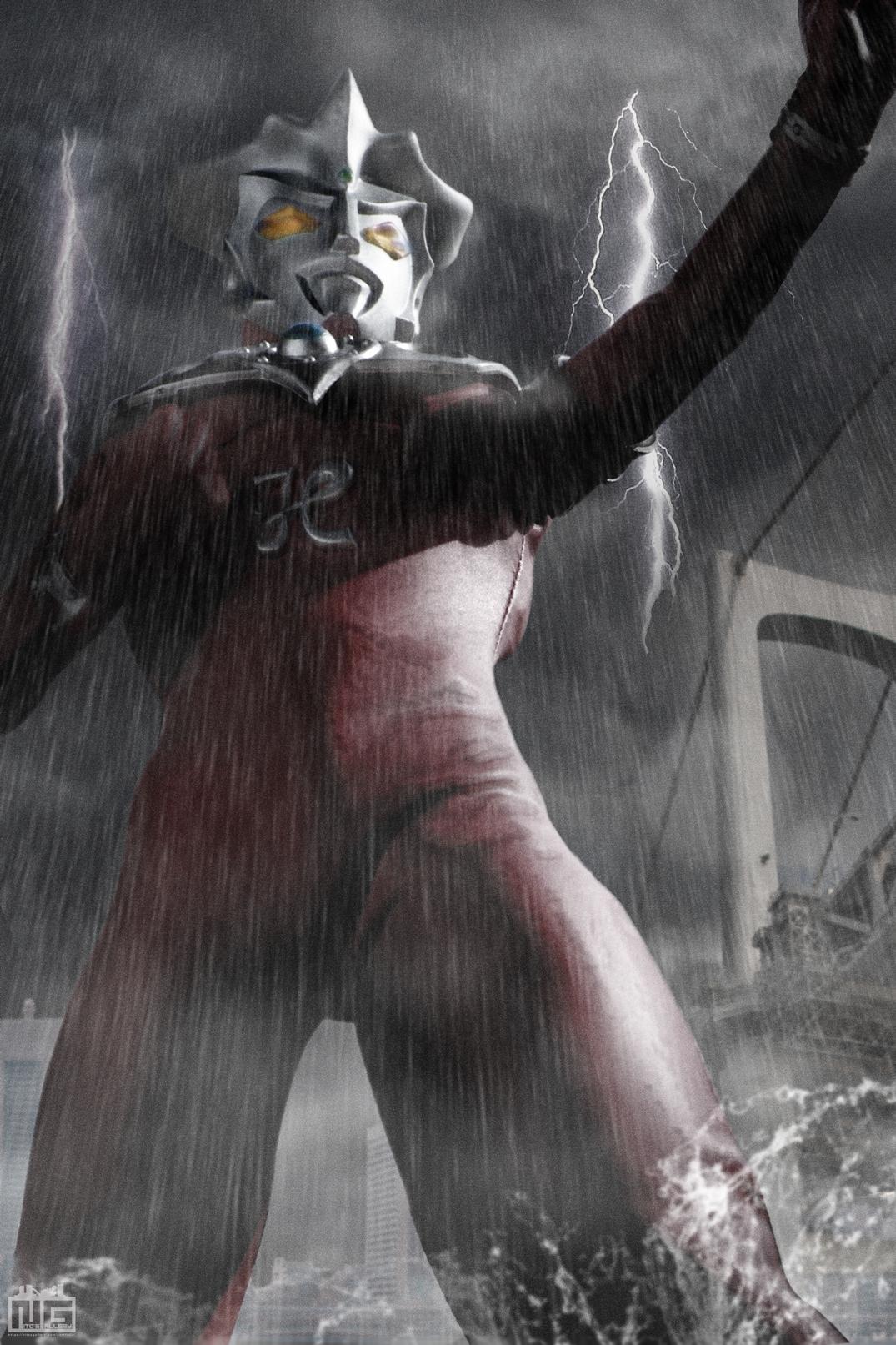 【デジラマ】嵐のウルトラマンレオ<リメイク>
