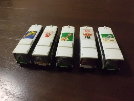 三菱ふそうバス5台