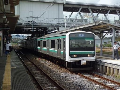 E501系カツK754編成