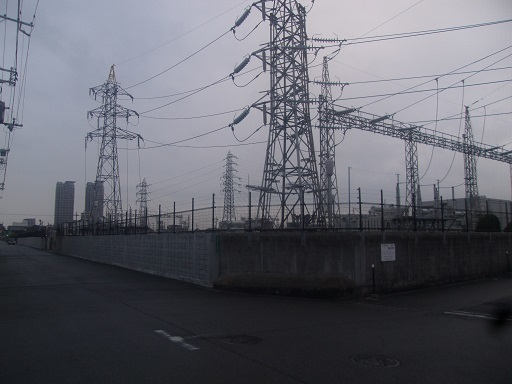 長曽根変電所