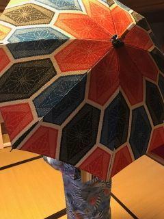 武藤さんの日傘