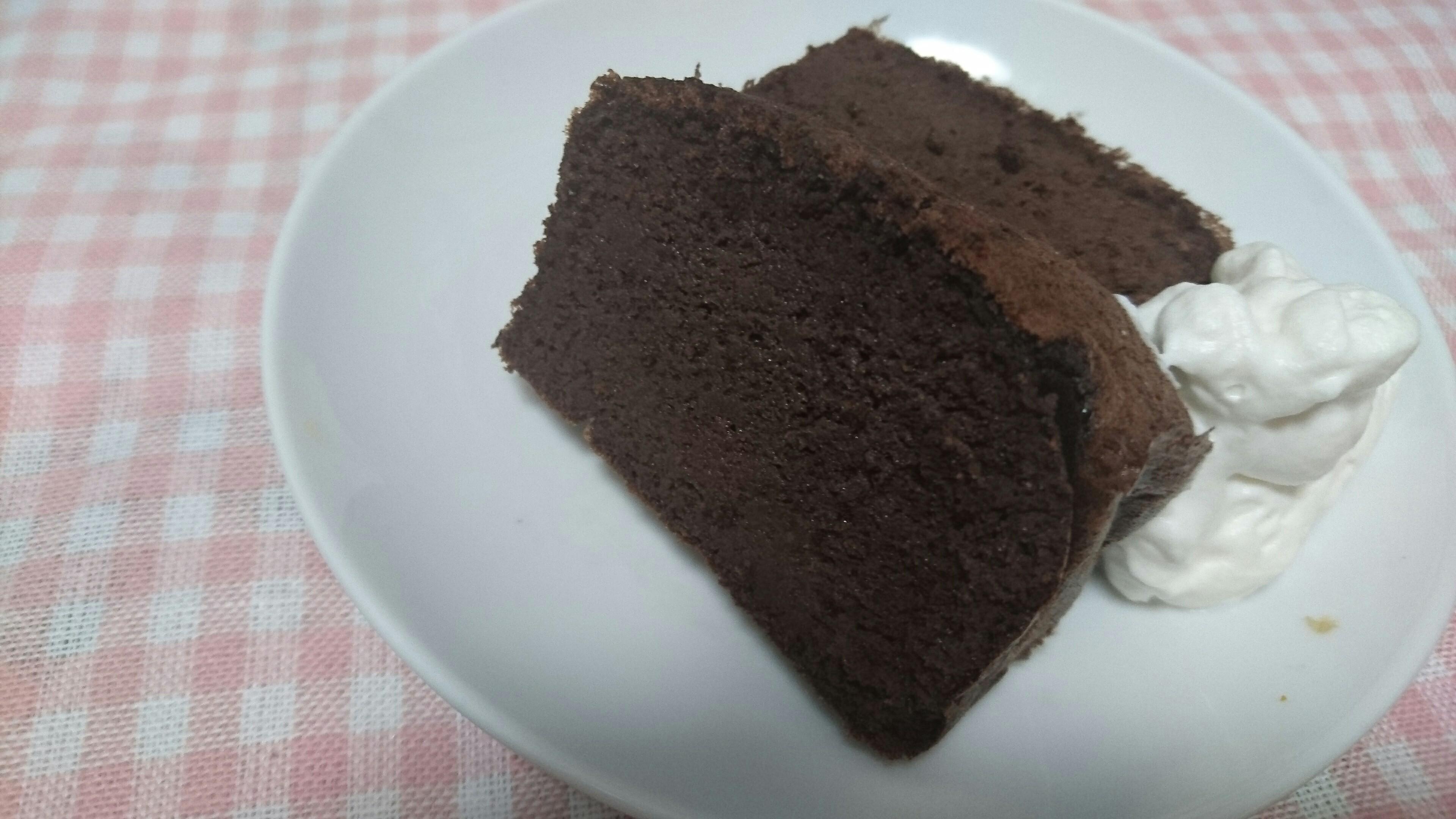 おからパウダーで低糖質ガトーショコラ【 糖質9.6g/1切れ1.2g 】
