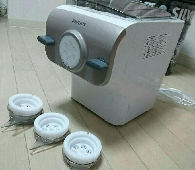 フィリップスのヌードルメーカーで低糖質パスタを作ってみた!【糖質12g/一人前(麺のみ)】